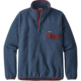 Patagonia Lightweight Synchilla Snap-T Pullover Men Stone Blue